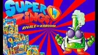 SUPER ZINGS EPISODIO 1 serie 2⚡️ HISTORIA MEGA UNBOXING! Profesor K?
