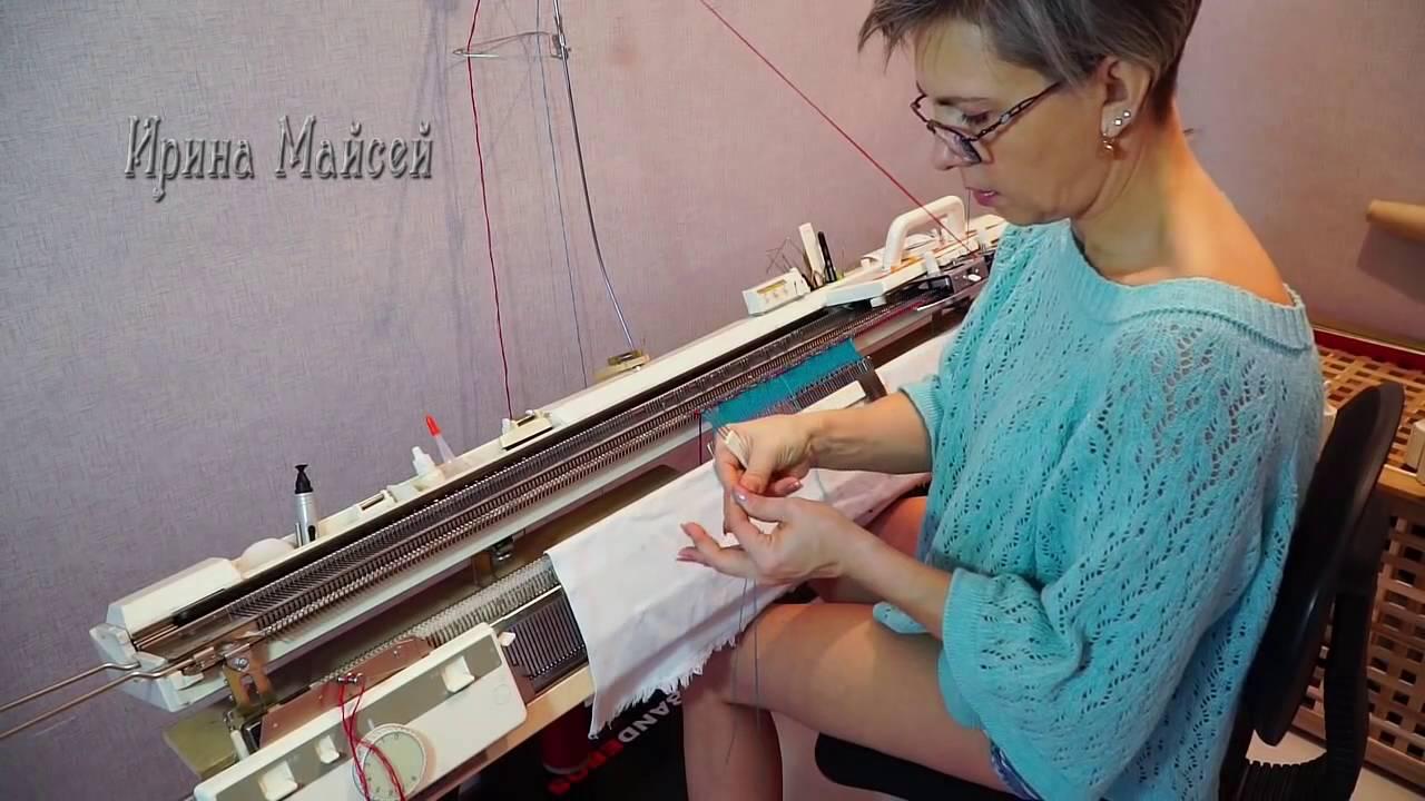 Однофонтурная машина для вязания