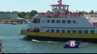 Water taxi captain ordered to stop hauling freight in Casco Bay