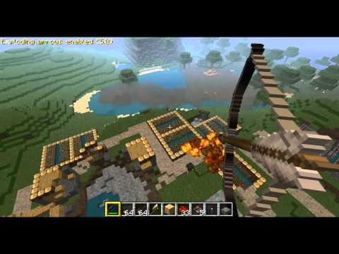 Minecraft: Exploding Arrows Mod (NO LAG)