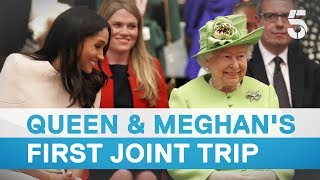 Queen and Meghan Markle make first joint visit - 5 News