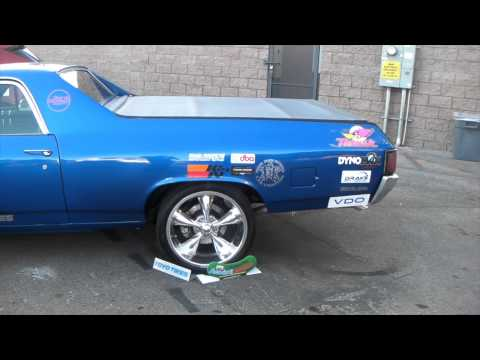 DUBSandTIRES.com 1983 Chevy El Camino Review 20 inch staggered Boss 338 Chrome Wheels Asanti