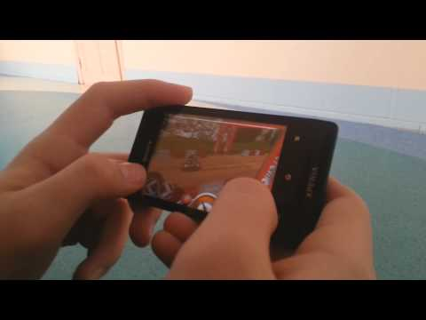 Sony Xperia Miro Review  Gaming + Camera Test HD (SAMSUNG GALAXY S3 CAMERA)