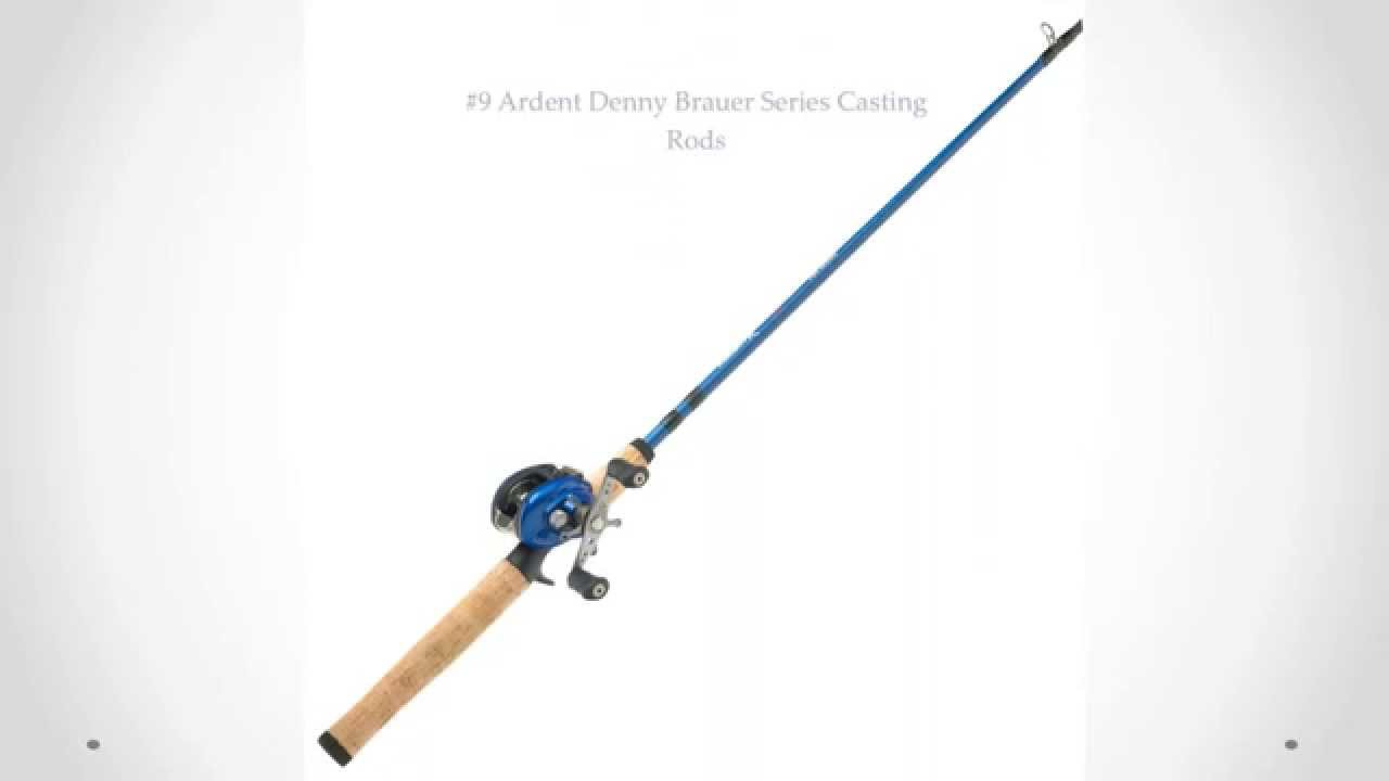 top 10 fishing rod for bass fishing youtube