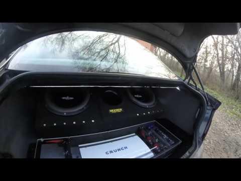 BMW E46 | Stealth subwoofer test