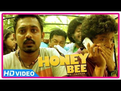 Honey Bee Malayalam Movie | Scenes | Baburaj gets shot | Asif Ali | Bhavana | Sreenath Bhasi
