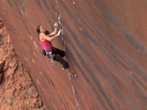 Steph Davis Climbing Concepcion