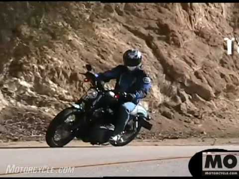 2007 Harley Davidson XL1200N Motorcycle Review