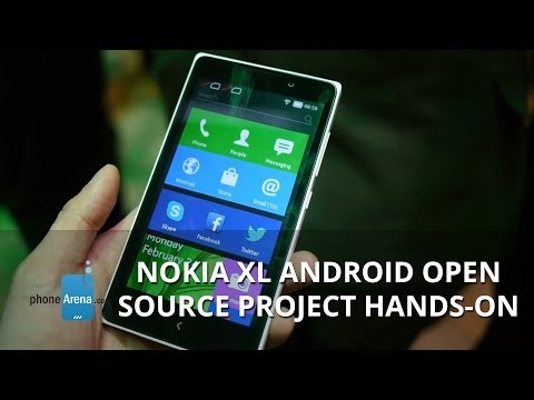 Nokia XL Android Open Source Project hands-on
