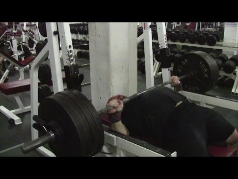 JEREMY HAMILTON: Bench Press + Overhead Press Training 03/12/13 + 07/12/13 Week 1 Image 1