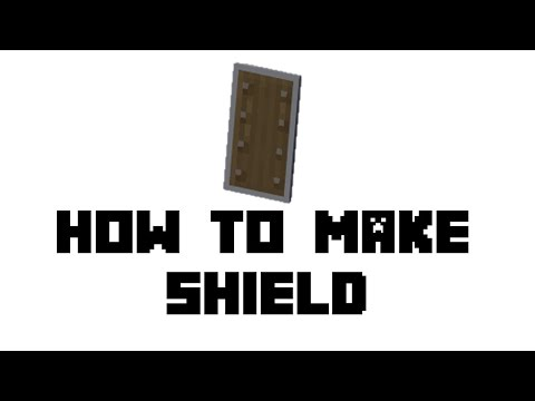 Minecraft Survival: How to Make Shield