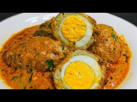 यह नरगिसी कोफ्ता बढ़ाएगा आपकी हर महफ़िल की शान|Tasty Nargisi Kofta Curry recipe | Ramzan Special