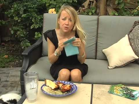 The Grill Grrrl makes grilled guava-lime gamehens - Corporate Videography
