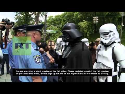 Ukraine: Darth Vader is anti-drugs, but can't use the force