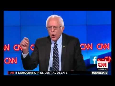 Bernie Sanders First Democratic Debate Highlights 2015