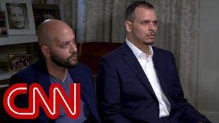 Sons of slain Saudi journalist speak to CNN