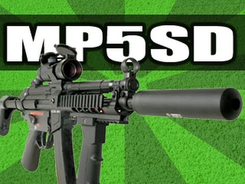 MP5SD Suppressed MP5 Slow Motion