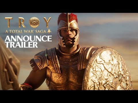 A Total War Saga: Troy - Announce trailer | PC