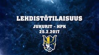 Lehdistötilaisuus Jukurit - HPK 25.2.2017