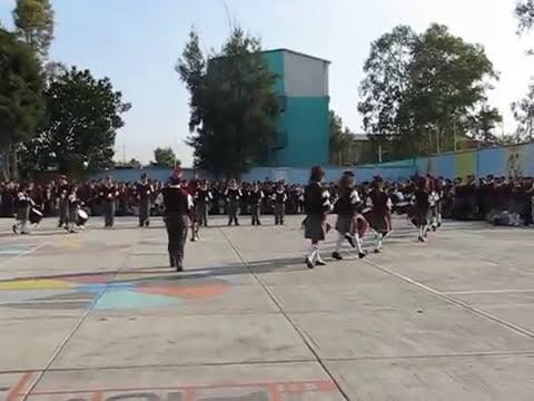 Banda de Guerra de la Escuela Primaria Quetzalcóatl: Muestreo