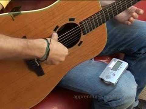 Apprendre accorder une guitare youtube - Comment dessiner une guitare ...