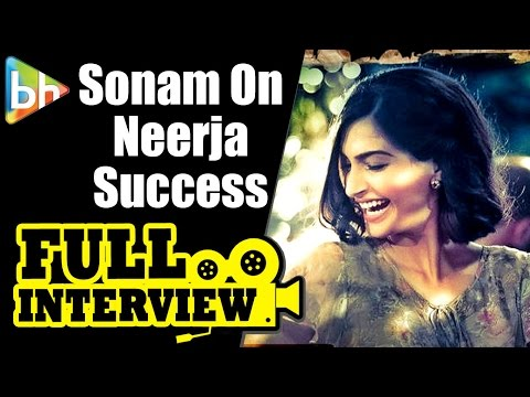 Sonam Kapoor | Neerja Success | Full Interview