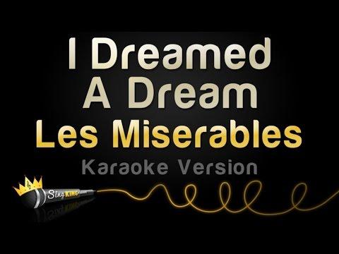 Les Miserables - I Dreamed A Dream (Karaoke Version)