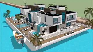 Floating house anime collection estate agents Key west Cambodia Apollo Duck nytimes Floating house a