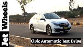 2019 honda Civic automatic(AMT)Test Drive review price mileage features specifications
