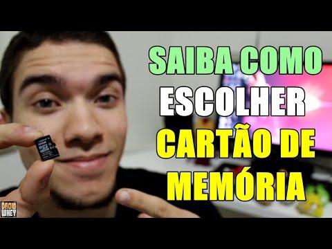 COMO ESCOLHER O SEU CARTÃO DE MEMÓRIA