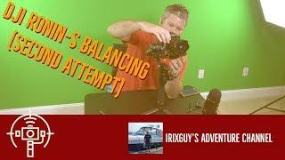 Balancing DJI Ronin S the Second Time