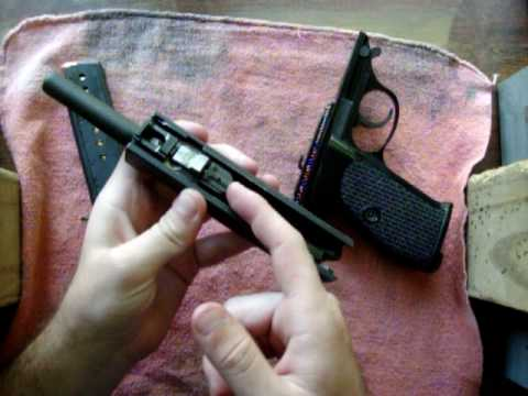 Disassembly Walther P38 Walther P38/p1 Pistol