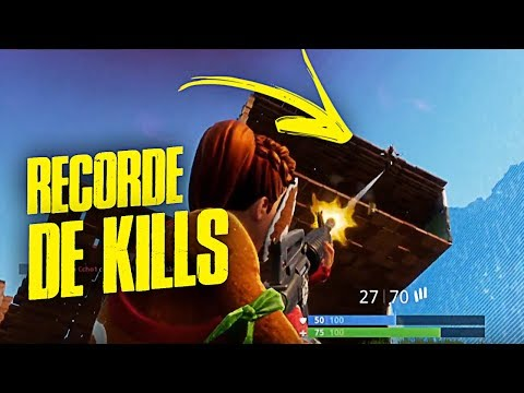 FORTNITE - VITORIA COM RECORDE DE KILLS! Ft. Pai, Drezzy e Nofaxu