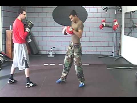 Boxing Training 101 For Southpaws, Basic Techniques - Defense, Jab/Straight Cross