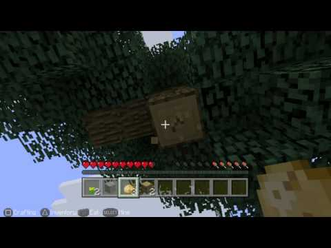 Minecraft PS Vita Edition on Playstation TV Gameplay (First Look)