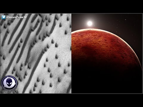 "BIZARRE! Alien ""Message"" Discovered In Mars Sand Dunes & More! 7/11/16"