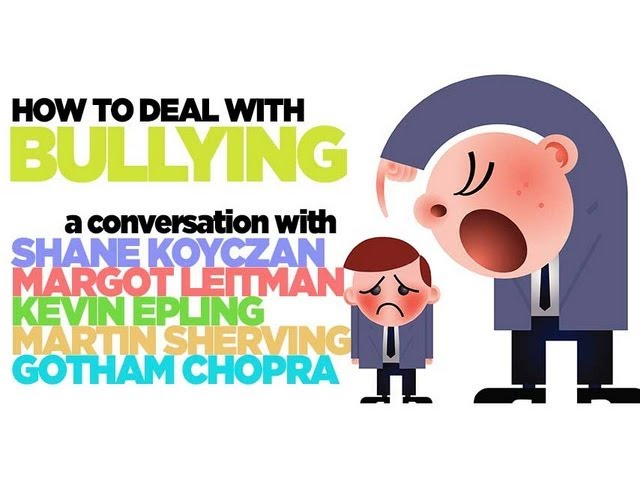 How to Deal with Bullying- Shane Koyczan, Kevin Epling, Margot Leitman & Martin Shervington