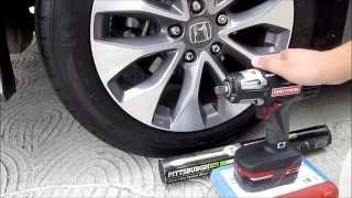 Lug Nut Removal and Installation using Craftsman Impact Wrench and Harbor Freight Torque Wrench