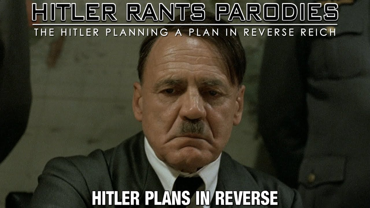 Hitler plans in reverse