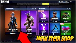 Fortnite ITEM SHOP Update NEW ICE QUEEN SKIN! 16th January 2019  (Fortnite Item Shop Live Countdown)