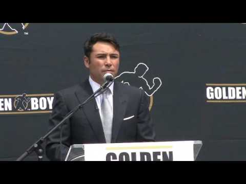 Oscar De La Hoya Retires Video