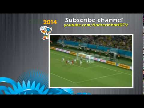 All Goals Ghana vs USA 1 2 ~ World Cup Brazil 2014