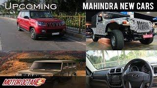 Mahindra ki Upcoming Cars for India | Hindi | MotorOctane