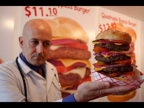 [HD] Heart Attack Grill in Las Vegas 60fps 1080p Full Complete Experience (Includes Spankings XD)