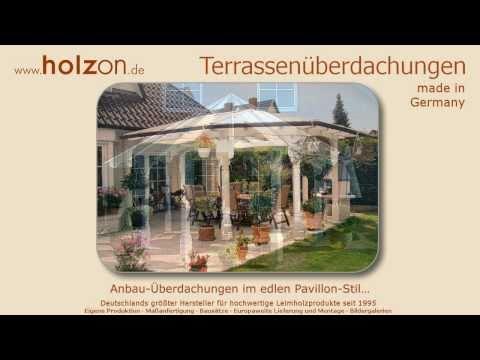 Terrassenüberdachung Selber Bauen Aus Holz Glas - Überdachung Bauen, Terrassenüberdachungen Montage.