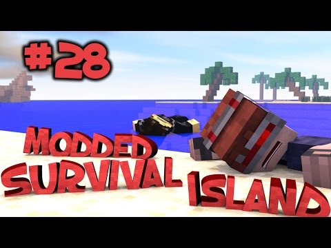 Survival Island Modded - Minecraft: Cave Survival Part 28