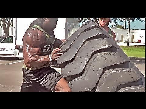 When Bodybuilding Meets Strongman Ft. Elliott Hulse & Kali Muscle video