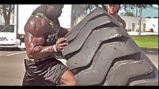 When Bodybuilding Meets Strongman ft. Elliott Hulse & Kali Muscle