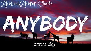 Burna Boy - Anybody (Lyrics | with English Translation)
