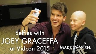 Vidcon 2015: Joey Graceffa Talks Minecraft and Anime With Cassidy